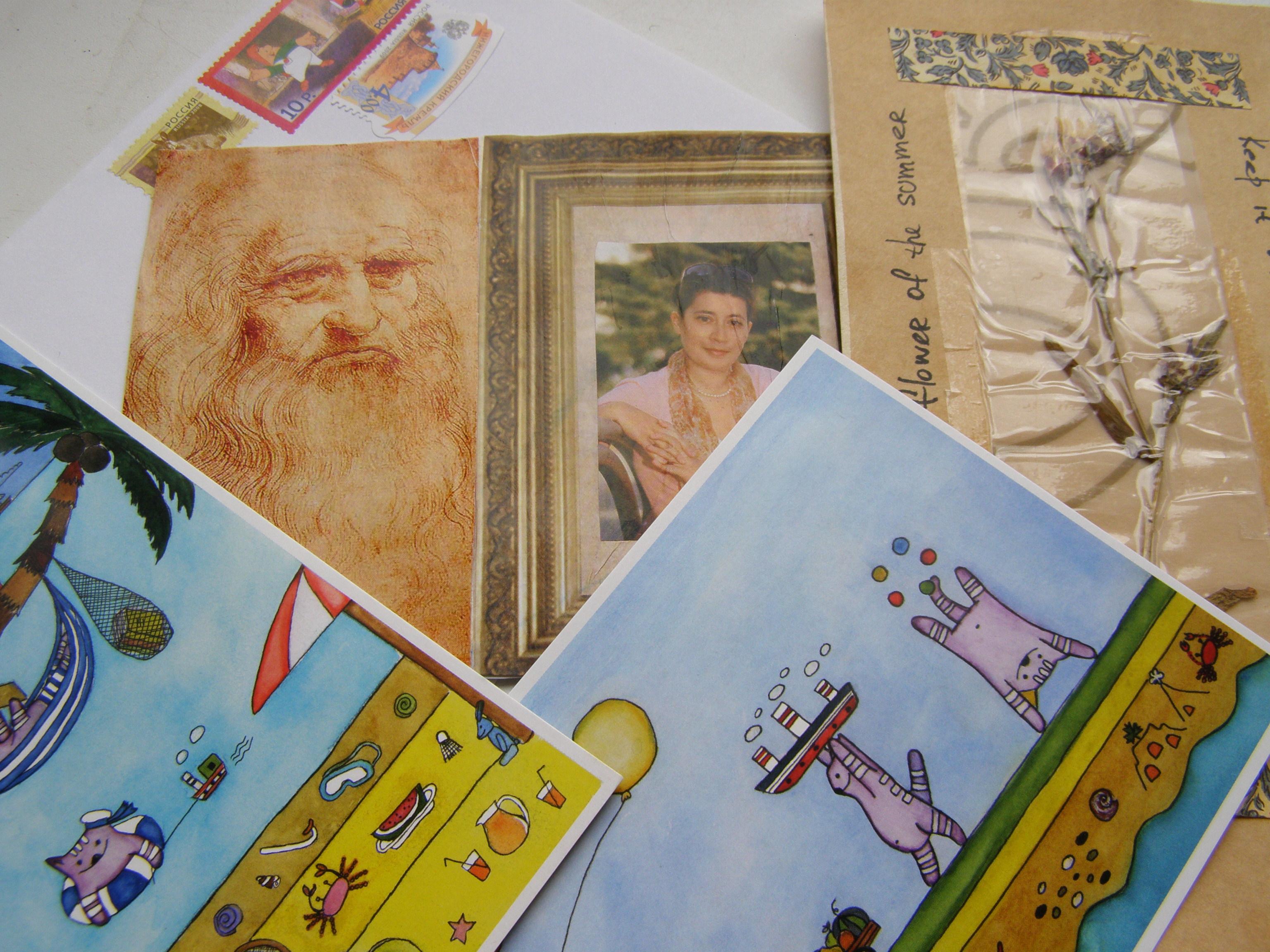 Днем, продать открытки репродукции